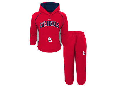 St. Louis Cardinals MLB Toddler Lil Fan Fleece Set