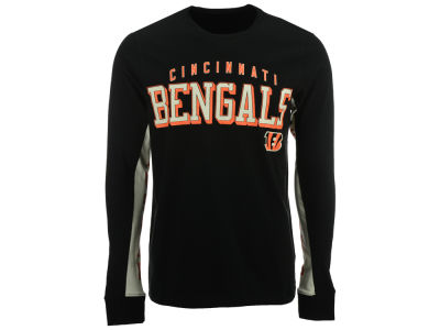 Cincinnati Bengals GIII NFL Men's Hands High Front Four Fashion Long Sleeve T-Shirt