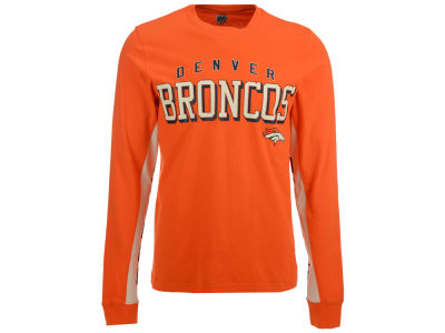 Denver Broncos G-III Sports NFL Men's Hands High Front Four Fashion Long Sleeve T-Shirt