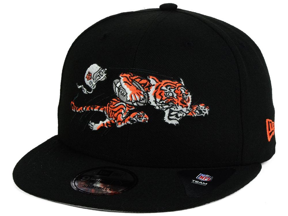 Cincinnati Bengals New Era NFL Historic Vintage 9FIFTY Snapback Cap ... e6703719728