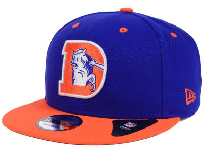 Denver Broncos New Era NFL Historic Vintage 9FIFTY Snapback Cap