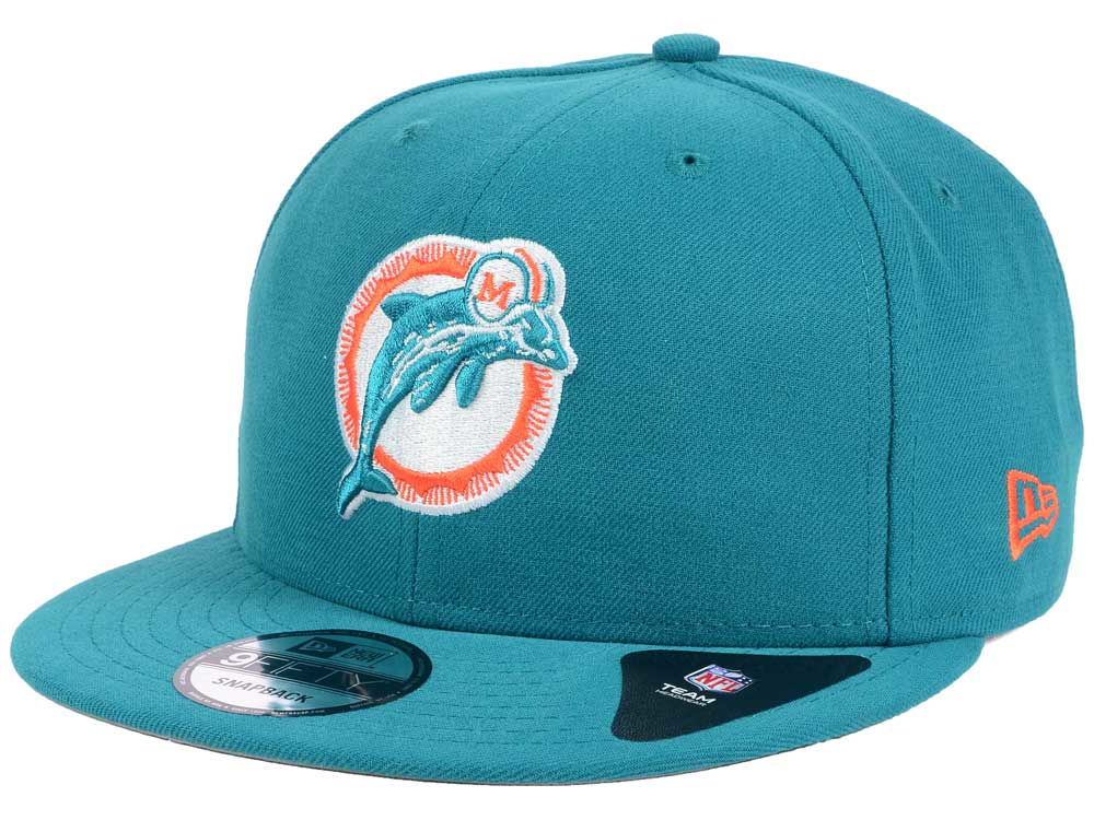 new arrival b6654 3b31a ... norway miami dolphins new era nfl historic vintage 9fifty snapback cap  c2464 d6255