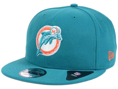Miami Dolphins New Era NFL Historic Vintage 9FIFTY Snapback Cap