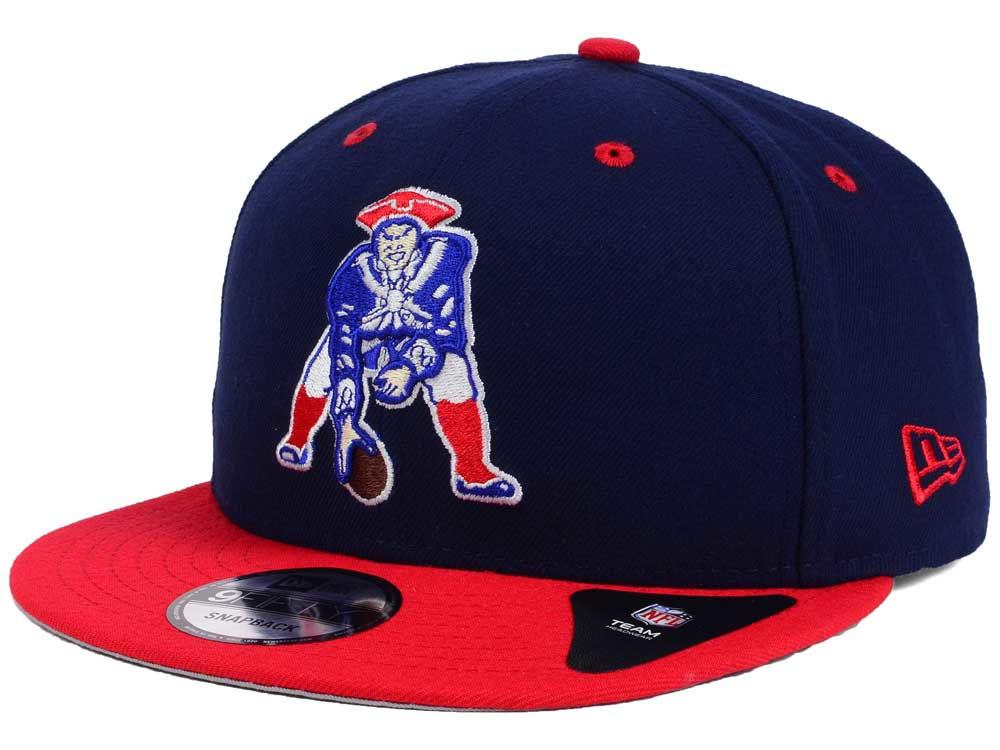 New England Patriots New Era NFL Historic Vintage 9FIFTY Snapback Cap  aad29cb42