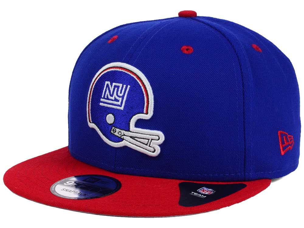 d75e70192 New York Giants New Era NFL Historic Vintage 9FIFTY Snapback Cap ...