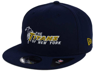 New York Titans New Era NFL Historic Vintage 9FIFTY Snapback Cap