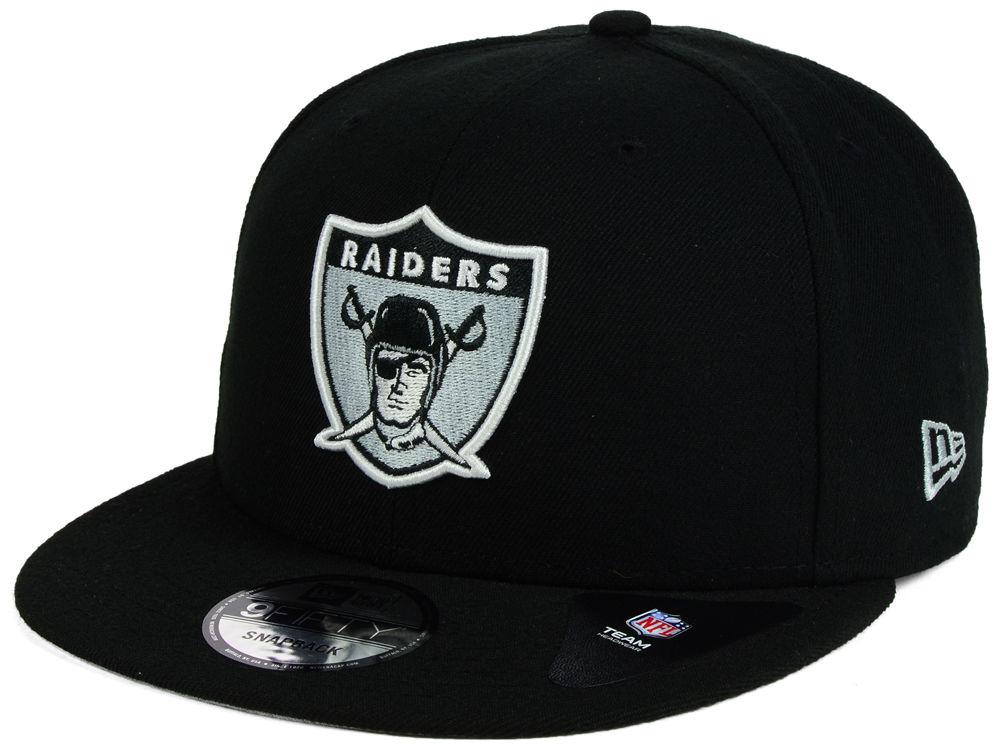 quality design 1a45d 0362f Oakland Raiders New Era NFL Historic Vintage 9FIFTY Snapback Cap   lids.com