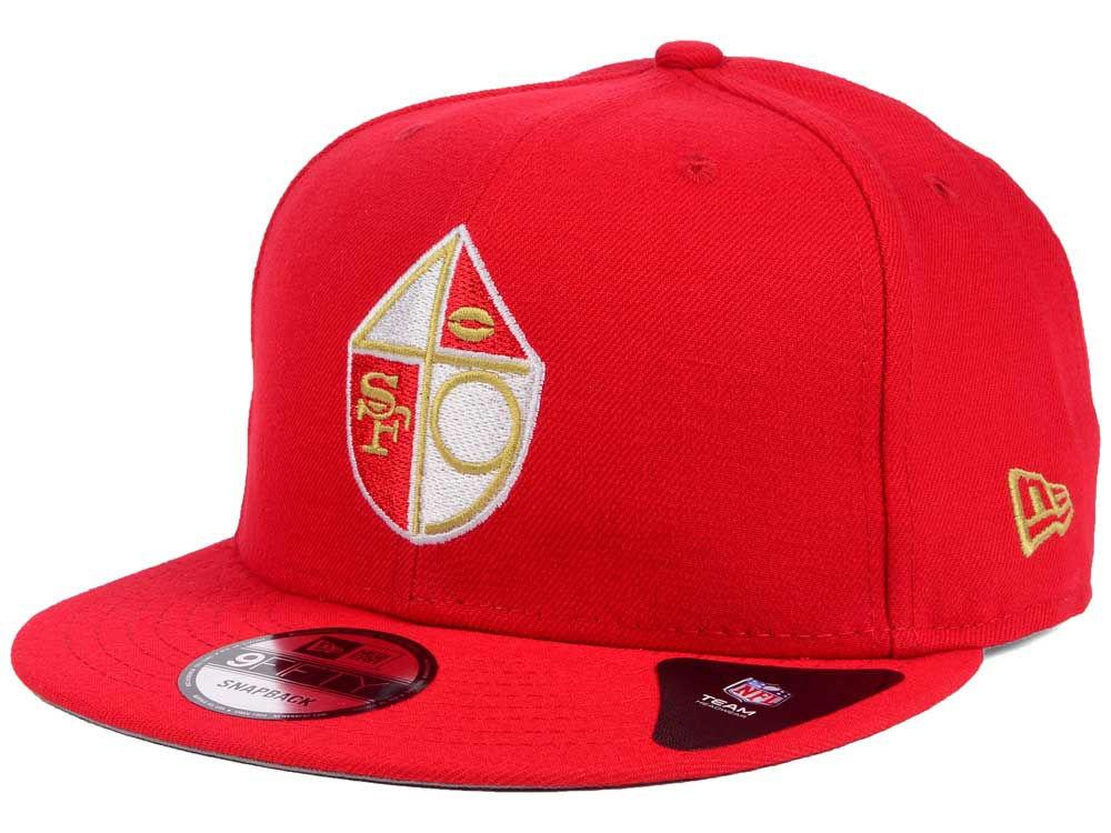 San Francisco 49ers New Era NFL Historic Vintage 9FIFTY Snapback Cap ... 801fa652bcb