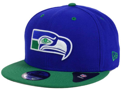 Seattle Seahawks New Era NFL Historic Vintage 9FIFTY Snapback Cap