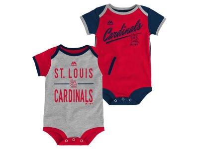 St. Louis Cardinals MLB Newborn 2 Piece Creeper Set