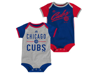 Chicago Cubs MLB Newborn 2 Piece Creeper Set