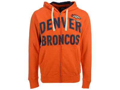 Denver Broncos GIII NFL Men's Hands High Playoff Full Zip Hoodie