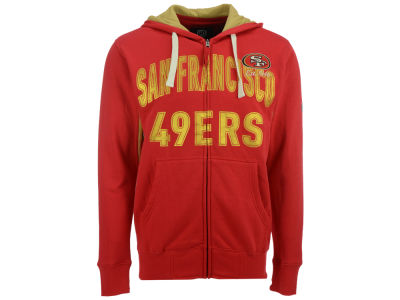 San Francisco 49ers GIII NFL Men's Hands High Playoff Full Zip Hoodie