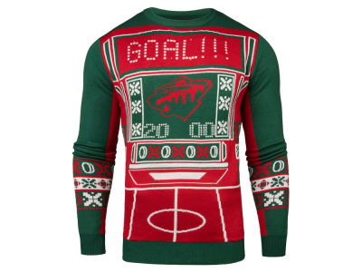 Minnesota Wild NHL Men's Light Up Ugly Sweater
