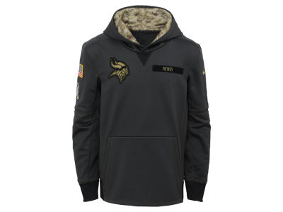 Minnesota Vikings NFL Youth Salute to Service Hoodie