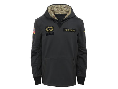 Green Bay Packers NFL Youth Salute to Service Hoodie