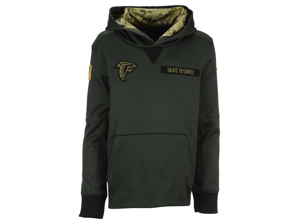 Atlanta Falcons Nike NFL Youth Salute to Service Hoodie  37e2f770b
