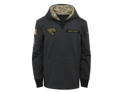 Jacksonville Jaguars NFL Youth Salute to Service Hoodie