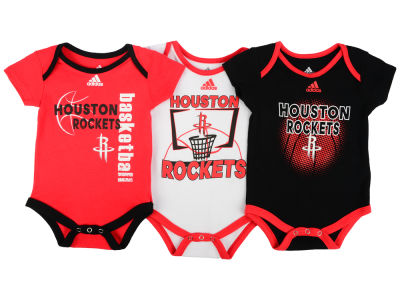 Houston Rockets NBA Newborn 3 Point Play Bodysuit Set
