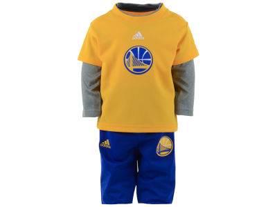 Golden State Warriors NBA Infant Free Throw Pant Set