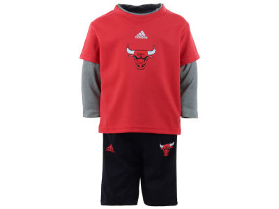 Chicago Bulls Outerstuff NBA Infant Free Throw Pant Set