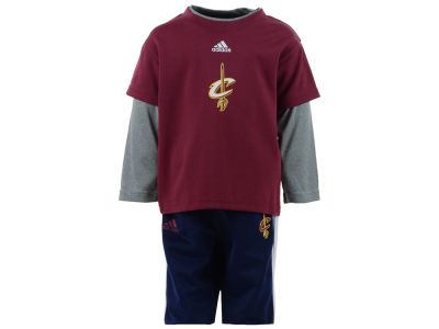Cleveland Cavaliers NBA Infant Free Throw Pant Set