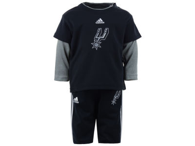 San Antonio Spurs NBA Infant Free Throw Pant Set