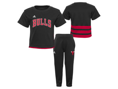 Chicago Bulls Outerstuff NBA Toddler Courtside Pant Set