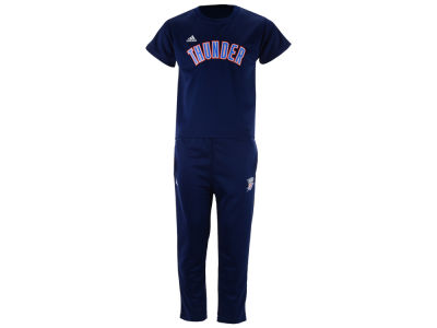 Oklahoma City Thunder Outerstuff NBA Toddler Courtside Pant Set