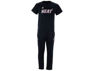 Miami Heat Outerstuff NBA Toddler Courtside Pant Set