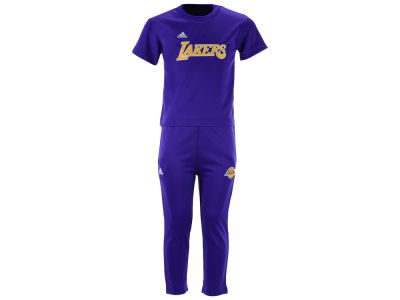 Los Angeles Lakers NBA Toddler Courtside Pant Set
