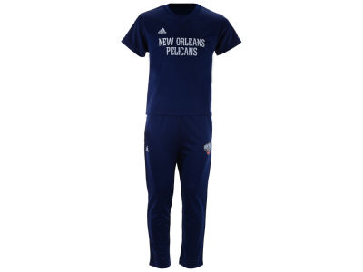 New Orleans Pelicans NBA Toddler Courtside Pant Set