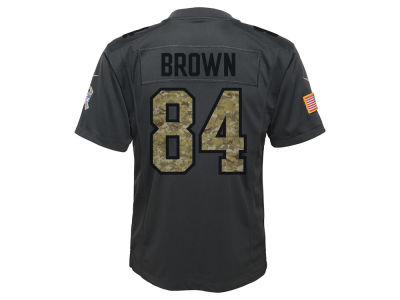 Pittsburgh Steelers Antonio Brown NFL Youth Salute to Service Jersey
