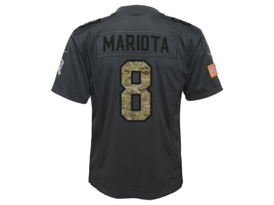 Tennessee Titans Marcus Mariota NFL Youth Salute to Service Jersey