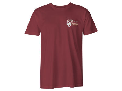 Oklahoma Sooners NCAA Men's State Of Mind Comfort Colors T-Shirt