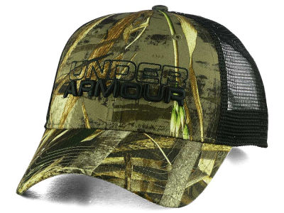 Under Armour Real Tree Max 5 Trucker Snapback Cap