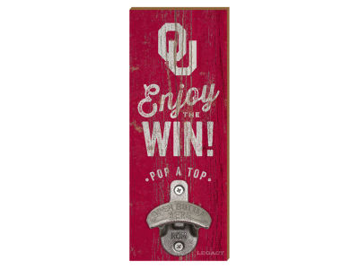 Oklahoma Sooners Wall Mount Bottle Opener