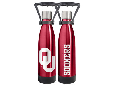 Oklahoma Sooners 17oz Vaccuum Insulated Water Bottle