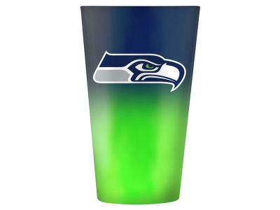 Seattle Seahawks 16oz Ombre Pint Glass
