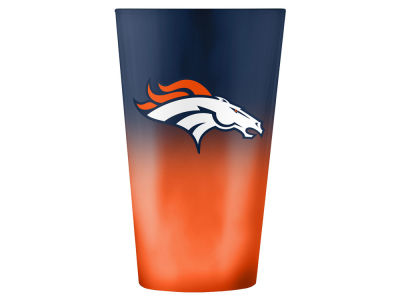 Denver Broncos 16oz Ombre Pint Glass