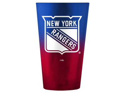 New York Rangers 16oz Ombre Pint Glass