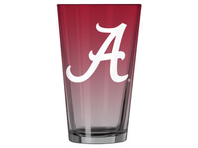Alabama Crimson Tide 16oz Ombre Pint Glass