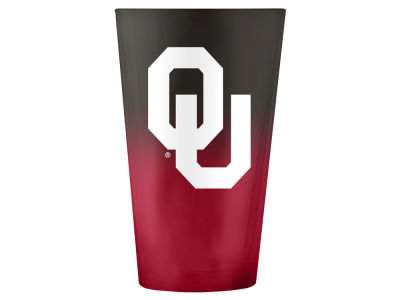 Oklahoma Sooners 16oz Ombre Pint Glass