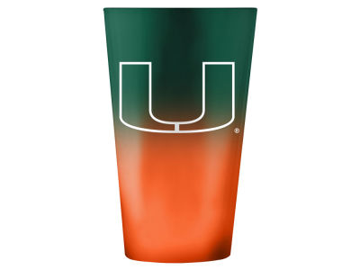 Miami Hurricanes 16oz Ombre Pint Glass