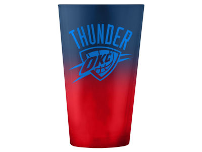 Oklahoma City Thunder 16oz Ombre Pint Glass