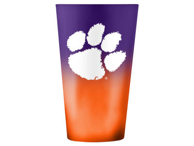 Clemson Tigers 16oz Ombre Pint Glass