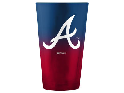 Atlanta Braves Boelter Brands 16oz Ombre Pint Glass