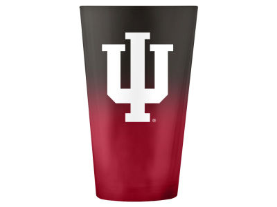 Indiana Hoosiers 16oz Ombre Pint Glass