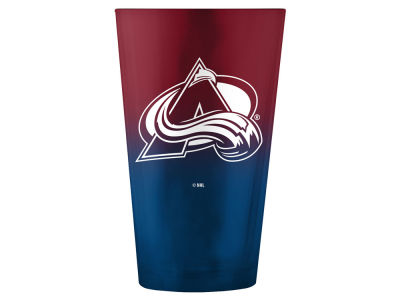 Colorado Avalanche 16oz Ombre Pint Glass
