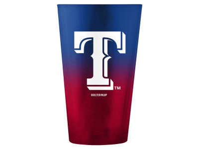Texas Rangers 16oz Ombre Pint Glass